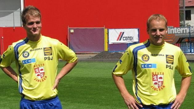Pavel Simr a Pavel Mezlík
