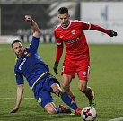 Zápas 15. kola první fotbalové ligy mezi FC Vysočina Jihlava a FC Zbrojovka Brno.