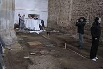 Rekonstrukce gotického chrámu Povýšení svatého Kříže