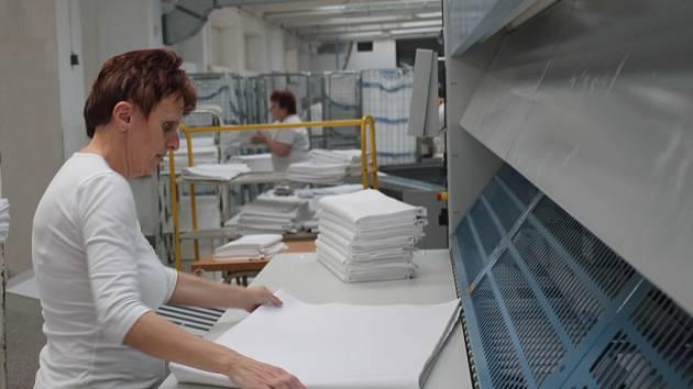 Provozovna prádelny v Jihlavě