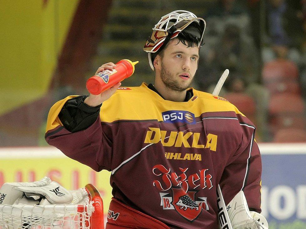 David Honzík oblékal jihlavský dres už v sezoně 2015/2016.