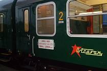 Souprava vlaků Ostravan projede Krajem Vysočina v rámci oslav Dne železnice. Bohatý program čeká návštěvníky především v Jihlavě.