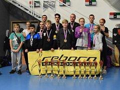 Reprezentanti Reborn klubu byli po turnaji obklopeni řadou ocenění.