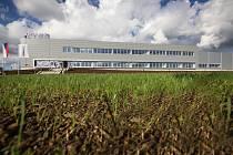 Areál Swoboda – Stamping, který získal titul Stavba roku Kraje Vysočina za rok 2014 v kategorii průmyslových a administrativních staveb.