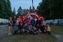 Jihlavská astronomická společnost musela hledat novou táborovou základnu. U Borovan se nakonec všem líbilo.