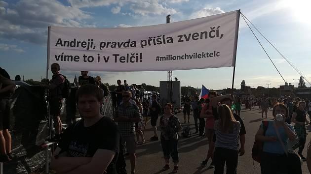 Protesty na Letné.