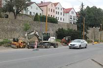 Ještě pět týdnů. Do poloviny října by měly být práce před Cityparkem ukončeny.