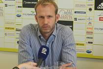Sportovní ředitel FC Vysočina Jihlava Lukáš Vaculík.