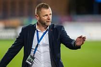 Trenér FC Vysočina Jihlava Radim Kučera.