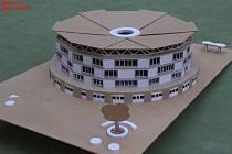 Návrh studentů stavební školy z Jihlavy.