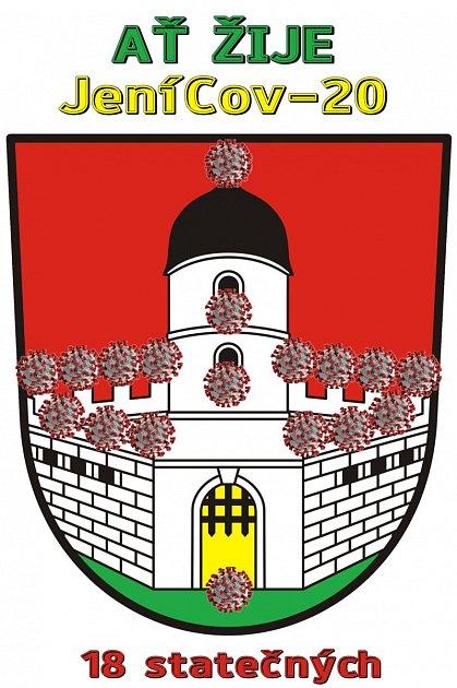 Jeníkovští se snaží odlehčit situaci, kdy se stali jedním zohnisek nákazy. Na Facebooku vypsali soutěž onové logo městyse.