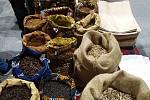 Africké trhy v Telči.
