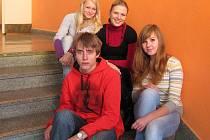 Do Brna pojede sympatická učitelka Martina Šimková s Petrem, Michaelou a Janou.