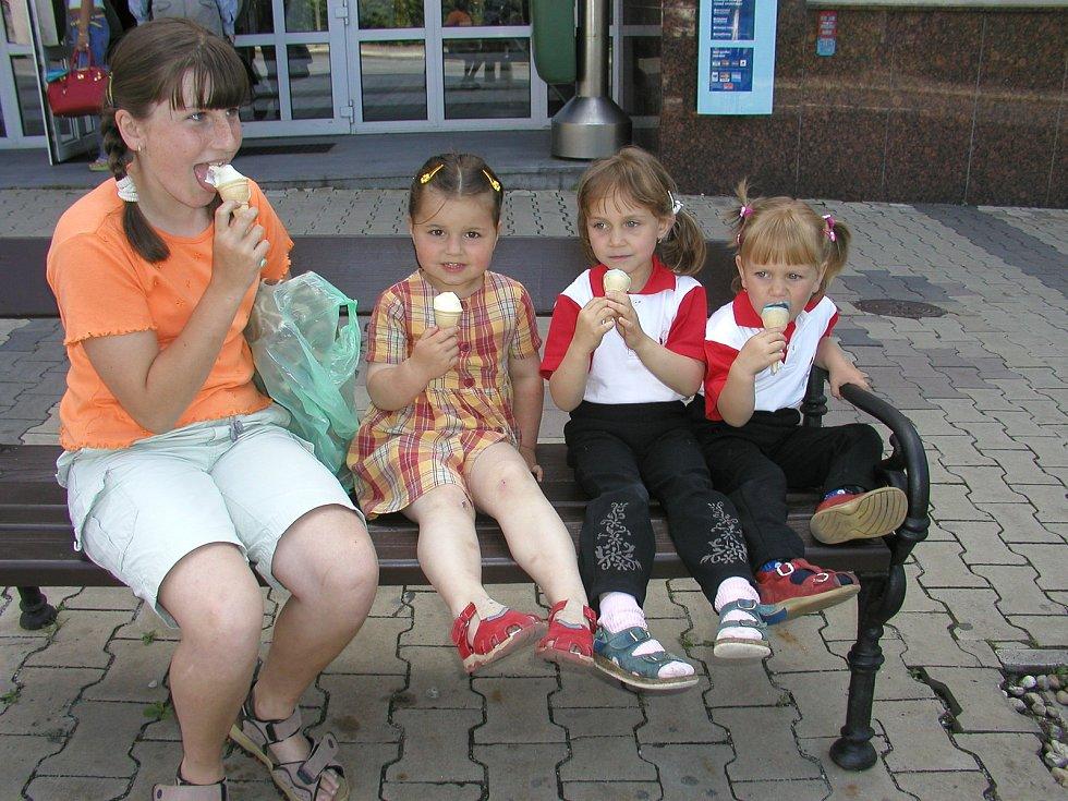 Letošní sezona je pro zmrzlináře spíš zklamání. Ilustrační foto.