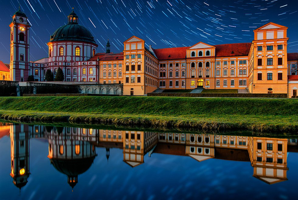 Snímek zámku v Jaroměřicích nad Rokytnou od Martina Kratochvíla.