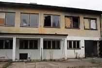 Opuštěná kasárna v Jihlavě - Pístově.