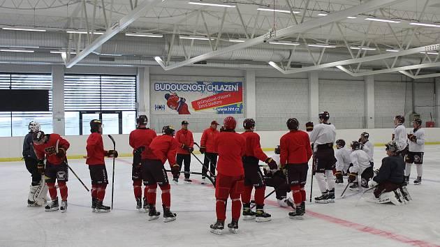 Konec lenošení. Jihlavští hokejisté absolvovali první trénink na ledě