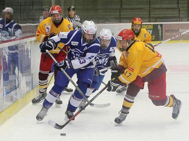 Čas na změnu.Kladenští hokejisté Duklu v lize třikrát porazili. Jak to dopadne v semifinále play-off?