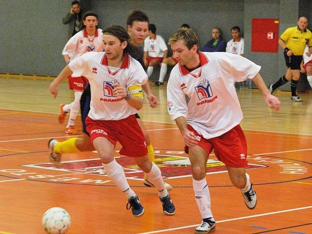 Na tréninku Arsenalu Brtnice se na začátku roku objevili i bratři Marešové.