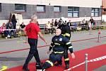 Firefighter Combat Challenge v Telči.