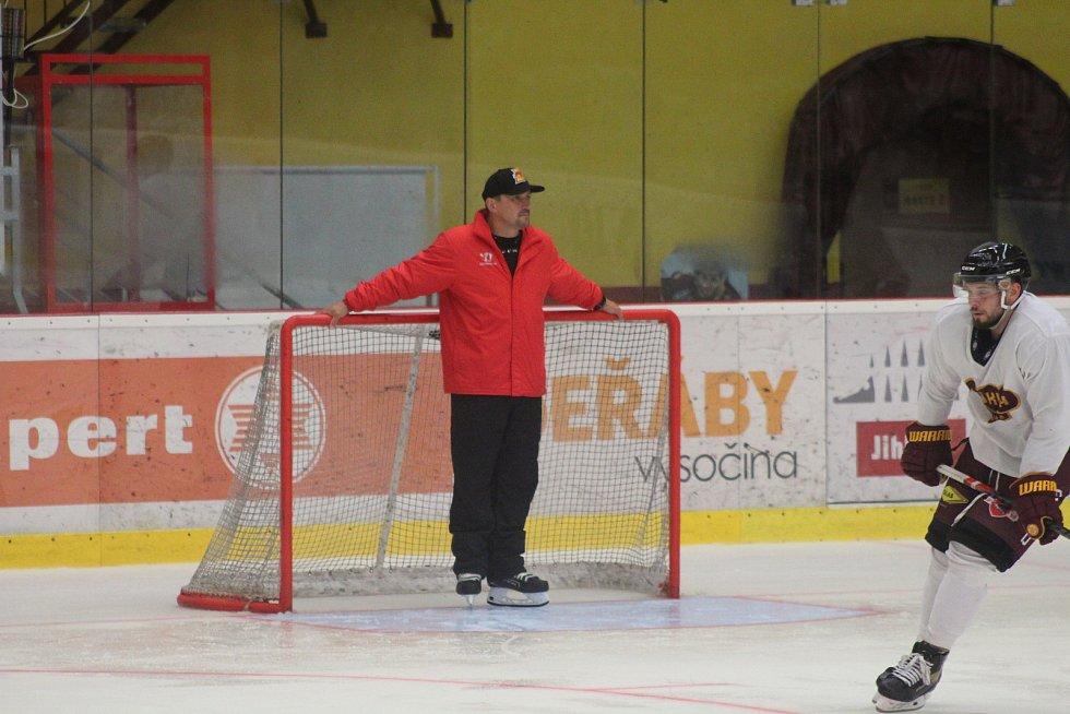 Dukla Jihlava poprvé trénovala po dovolené.