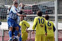 Do takovýchto šancí jako loni proti Plzni se v sobotu Most proti staršímu dorostu FC Vysočiny nedostal. Jihlava byla lepším týmem a zaslouženě zvítězila.