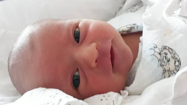 Adéla Kružíková se narodila 16. listopadu v jihlavské porodnici.