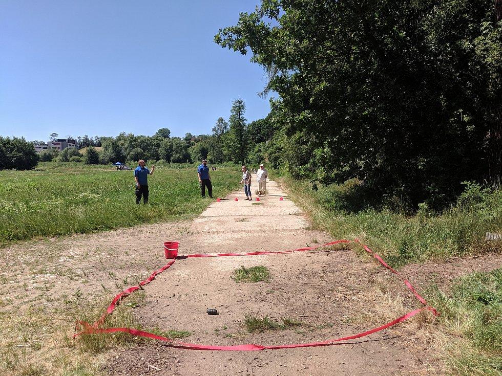 Sobotní branný závod v Jihlavě.