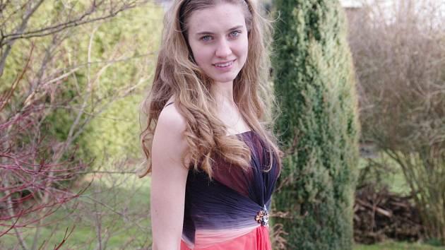 Úspěšná studentka Hana Malcová.