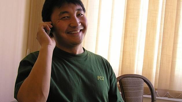 Tlumočník Mongolských zaměstnanců firmy Futaba Havlíčkův Brod Gongoržav Batbajar.