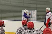 Jde o jednotlivce. Při práci s talentovanými hokejisty v Telči jdou týmové ambice stranou, hlavním cílem je vychovávat šikovné hráče.