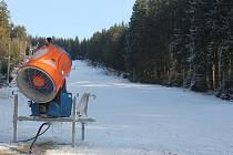 Na Čeřínku se zase bude lyžovat.