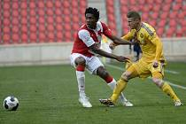 FC Vysočina Jihlava proti Slavii Praha