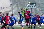 Přípravné utkání mezi FC Vysočina Jihlava a FC MAS Táborsko.