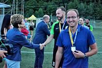 Jihlavští hráči malého fotbalu skončili v uplynulém ročníku superligy na druhém místě.