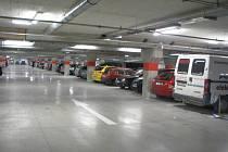 Podzemní parkování v City Parku.
