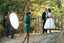 Dana Hosová v současné době fotí novomanžele v Chile. Za měsíc se ale chce vrátit zpět do Jihlavy.