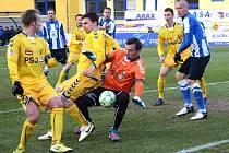 Po čtyřech utkáních se dočkali další ligové výhry jihlavští fotbalisté. V sobotní dohrávce udolali doma silnou Mladou Boleslav a významně si pomohli v boji o záchranu soutěže.