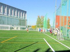 Fotbalisté mají nové hřiště