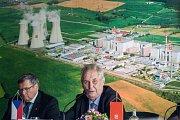 Návštěva prezidenta republiky v Kraji Vysočina v roce 2017. Setkání se zaměstnanci Jaderné elektrárny Dukovany.