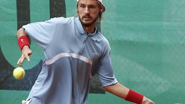 Prostějovský tenista Michal Navrátil hájil jihlavské barvy už v roce 2006. Jeho body by Spartak potřeboval i letos.