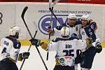 Druhý zápas semifinále play off první hokejové ligy mezi týmy HC Dukla Jihlava a Rytíři Kladno.