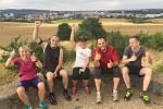 Zuzana Urbanová (uprostřed) každý týden v Jihlavě pořádá společné běhy, takzvaný freerun.