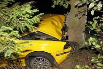 Ke střetu dvou osobních vozidel došlo v obci Salavice na Jihlavsku.