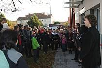 Nízkoprahové zařízení pro děti a mládež Zastávka Telč - slavnostní otevření. Ilustrační foto.
