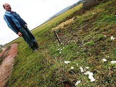 Během okamžiku přišel Jiří Kočár z Ratibořic na Třebíčsku o tři ovce. Jeho stádo napadli v pátek v brzkých ranních hodinách zatím neznámí psi. Útok jako jediný přežil beran, který doběhl z ohrady až k vratům farmáře, kde ho našel Kočárův syn.