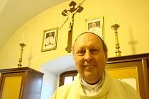 Pavel Posád. Českobudějovický biskup pochází z Vysočiny.