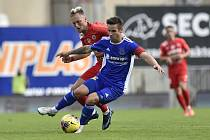 Utkání 3. kola českého fotbalového poháru MOL Cupu: Zbrojovka Brno - Vysočina Jihlava