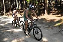Lukáš Nedělka po sobotním závodu v Lukách absolvoval i nedělní triatlon Xtrail v Novém Městě na Moravě, kde se jelo na pro něj oblíbenějším horském kole.