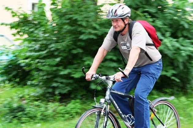 Robert Ďásek z odboru životního prostředí na jihlavské radnici